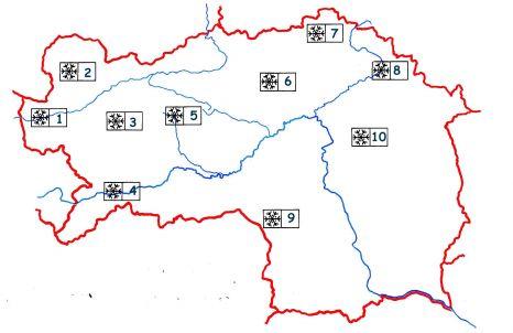 Steiermark Karte Flüsse.Vs Gutenberg An Der Raabklamm Skigebiete